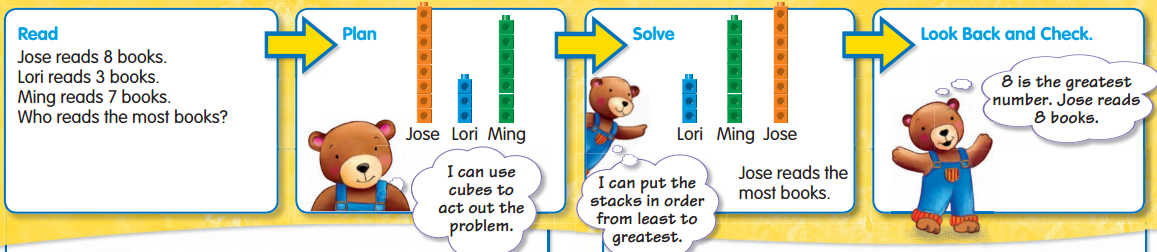 Envision Math 1st Grade Textbook Answers Topic 2.4 Act It Out 2