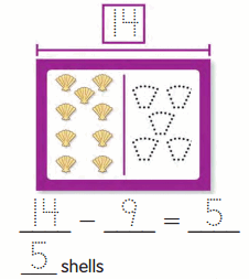 Envision Math 2nd Grade Answer Key Topic 1.4 Stories About Separating 16