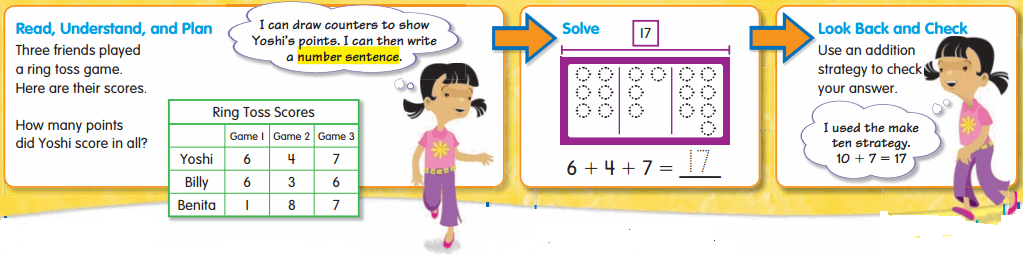 Envision Math 2nd Grade Answer Key Topic 2.8 Problem Solving 2