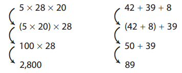 Envision Math 6th Grade Textbook Answer Key Topic 2.5 Mental Math 2