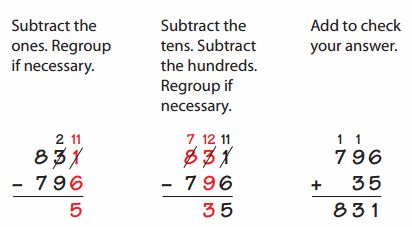 Envision Math Grade 4 Answer Key Topic 2 Reteaching 69