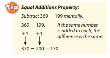 Envision Math Grade 5 Answers Topic 2.1 Mental Math 15.1
