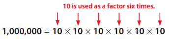 Envision Math Grade 6 Answer Key Topic 1.3 Exponents and Place Value 11