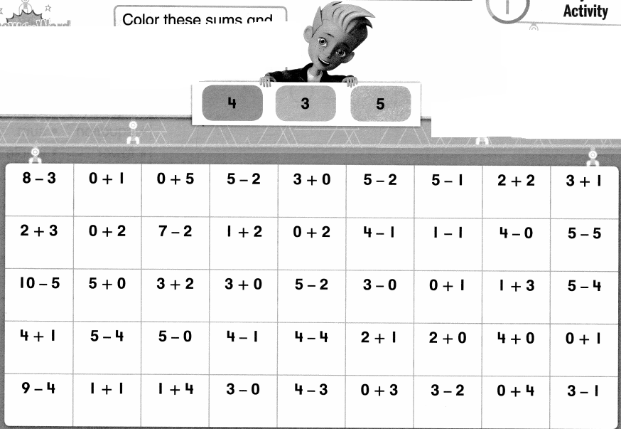 Envision Math Common Core 1st Grade Answer Key Topic 1 Understand Addition and Subtraction 86.0