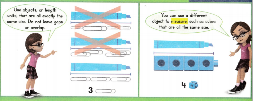 Envision Math Common Core 1st Grade Answer Key Topic 12 Measure Lengths 31