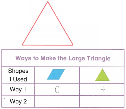 Envision Math Common Core 1st Grade Answer Key Topic 14 Reason with Shapes and Their Attributes 34