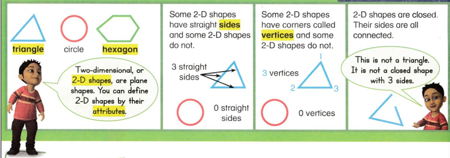 Envision Math Common Core 1st Grade Answer Key Topic 14 Reason with Shapes and Their Attributes 8