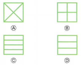 Envision Math Common Core 1st Grade Answer Key Topic 15 Equal Shares of Circles and Rectangles 26