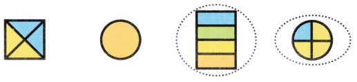 Envision Math Common Core 1st Grade Answer Key Topic 15 Equal Shares of Circles and Rectangles 30