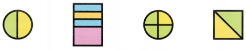 Envision Math Common Core 1st Grade Answer Key Topic 15 Equal Shares of Circles and Rectangles 31