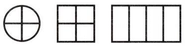 Envision Math Common Core 1st Grade Answer Key Topic 15 Equal Shares of Circles and Rectangles 33