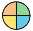 Envision Math Common Core 1st Grade Answer Key Topic 15 Equal Shares of Circles and Rectangles 38