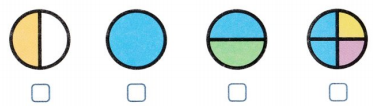 Envision Math Common Core 1st Grade Answer Key Topic 15 Equal Shares of Circles and Rectangles 39