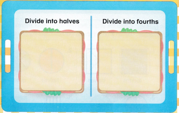 Envision Math Common Core 1st Grade Answer Key Topic 15 Equal Shares of Circles and Rectangles 40