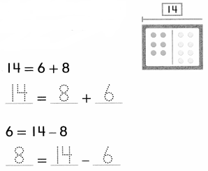 Envision Math Common Core 1st Grade Answer Key Topic 4 Subtraction Facts to 20 Use Strategies 9.5