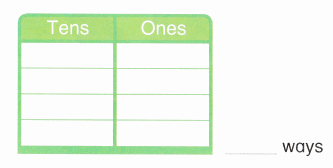 Envision Math Common Core 1st Grade Answer Key Topic 8 Understand Place Value 18.2