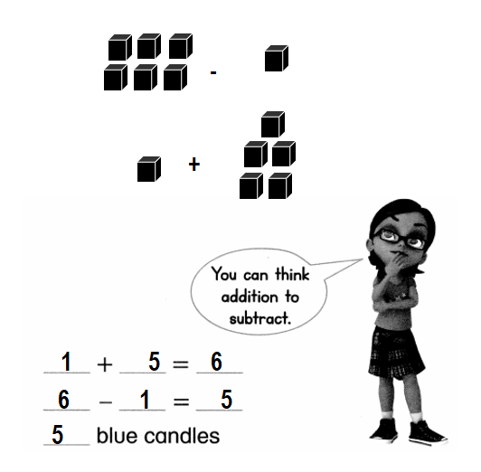 Envision-Math-Common-Core-1st-Grade-Answers-Key-Topic-1-Understand-Addition-and-Subtraction-Lesson 1.8 Practice Adding and Subtracting-Higher Order Thinking-5