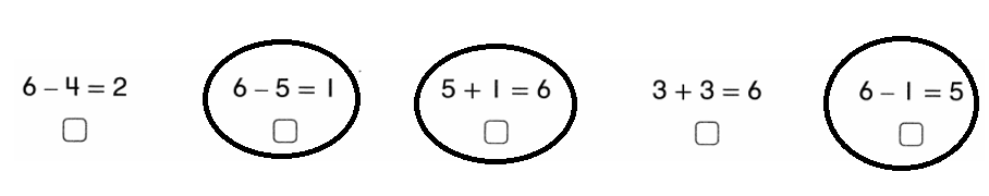 Envision-Math-Common-Core-1st-Grade-Answers-Key-Topic-1-Understand-Addition-and-Subtraction-Lesson 1.9 Construct Arguments-Topic 1 Assessment Practice-7