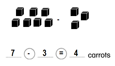 Envision-Math-Common-Core-1st-Grade-Answers-Key-Topic-1-Understand-Addition-and-Subtraction-Lesson 1.9 Construct Arguments-Use cubes or draw a picture. Write an equation and solve-5