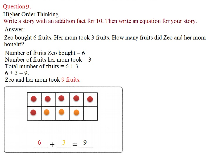 Envision-Math-Common-Core-1st-Grade-Answers-Key-Topic-2-Fluently-Add-and-Subtract-Within-10-Lesson-2.4-Facts-with-5-on-a-Ten-Frame-Problem-Solving- Question-9
