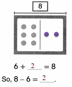 Envision-Math-Common-Core-1st-Grade-Answers-Key-Topic-2-Fluently-Add-and-Subtract-Within-10-Lesson-2.7-Think –Addition-to-Subtract-Independent-Practice- Question-3