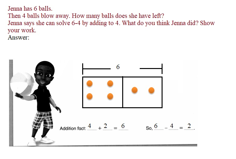 Envision-Math-Common-Core-1st-Grade-Answers-Key-Topic-2-Fluently-Add-and-Subtract-Within-10-Lesson-2.7-Think –Addition-to-Subtract-Solve-&-Share