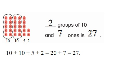 Envision-Math-Common-Core-1st-Grade-Answers-Key-Topic-8-Understand-Place-Value-Lesson-8.3-Count-with-Groups-of-Tens-and-Ones-Guided-Practice-Question-1