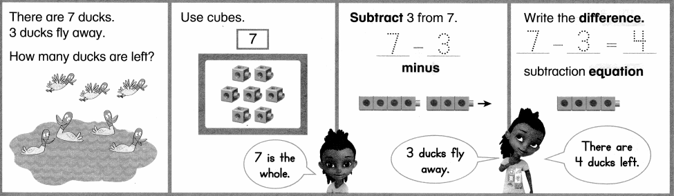 Envision Math Common Core 1st Grade Answers Topic 1 Understand Addition and Subtraction 41.2