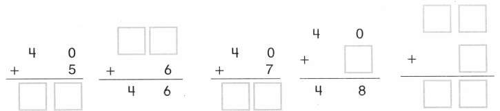 Envision Math Common Core 1st Grade Answers Topic 10 Use Models and Strategies to Add Tens and Ones 30.21