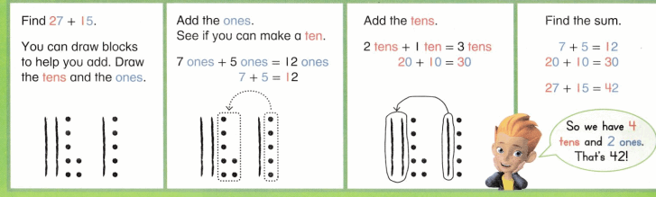 Envision Math Common Core 1st Grade Answers Topic 10 Use Models and Strategies to Add Tens and Ones 60.3