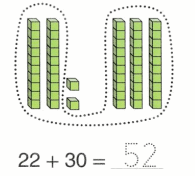 Envision Math Common Core 1st Grade Answers Topic 10 Use Models and Strategies to Add Tens and Ones 80.6