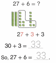 Envision Math Common Core 1st Grade Answers Topic 10 Use Models and Strategies to Add Tens and Ones 80.7