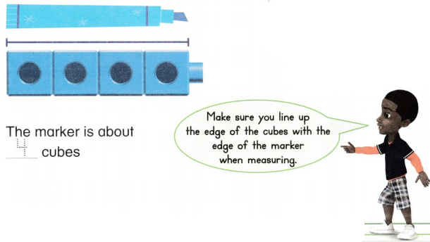 Envision Math Common Core 1st Grade Answers Topic 12 Measure Lengths 59