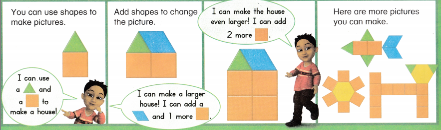 Envision Math Common Core 1st Grade Answers Topic 14 Reason with Shapes and Their Attributes 44