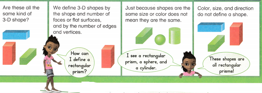 Envision Math Common Core 1st Grade Answers Topic 14 Reason with Shapes and Their Attributes 57