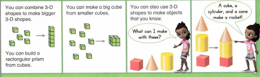 Envision Math Common Core 1st Grade Answers Topic 14 Reason with Shapes and Their Attributes 65