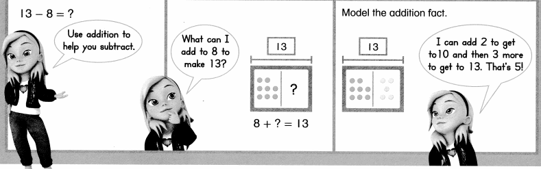 Envision Math Common Core 1st Grade Answers Topic 4 Subtraction Facts to 20 Use Strategies 6.49