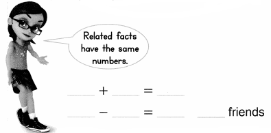 Envision Math Common Core 1st Grade Answers Topic 4 Subtraction Facts to 20 Use Strategies 7.7