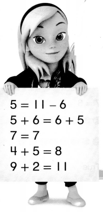 Envision Math Common Core 1st Grade Answers Topic 5 Work with Addition and Subtraction Equations 10