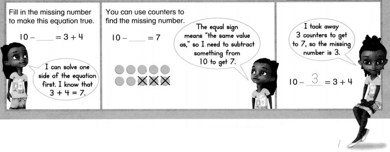 Envision Math Common Core 1st Grade Answers Topic 5 Work with Addition and Subtraction Equations 15