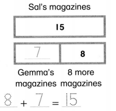 Envision Math Common Core 1st Grade Answers Topic 5 Work with Addition and Subtraction Equations 39