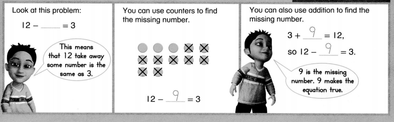 Envision Math Common Core 1st Grade Answers Topic 5 Work with Addition and Subtraction Equations 4