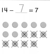 Envision Math Common Core 1st Grade Answers Topic 5 Work with Addition and Subtraction Equations 5