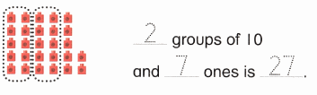 Envision Math Common Core 1st Grade Answers Topic 8 Understand Place Value 4.15