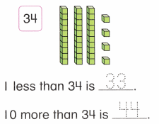 Envision Math Common Core 1st Grade Answers Topic 9 Compare Two-Digit Numbers 60.2