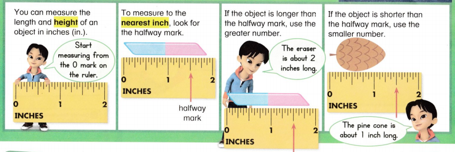 Envision Math Common Core 2nd Grade Answer Key Topic 12 Measuring Length 19