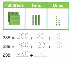 Envision Math Common Core 2nd Grade Answer Key Topic 9 Numbers to 1,000 82.2