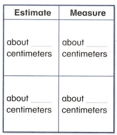 Envision Math Common Core 2nd Grade Answers Topic 12 Measuring Length 57