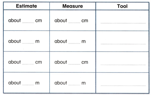 Envision Math Common Core 2nd Grade Answers Topic 12 Measuring Length 63