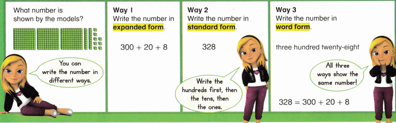 Envision Math Common Core 2nd Grade Answers Topic 9 Numbers to 1,000 16.2